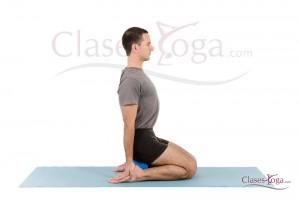 Asana de Yoga Virasana